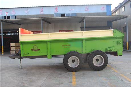可牵引固态肥抛撒机