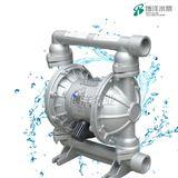 QBY铝合金气动隔膜泵前国内新颖的一种泵