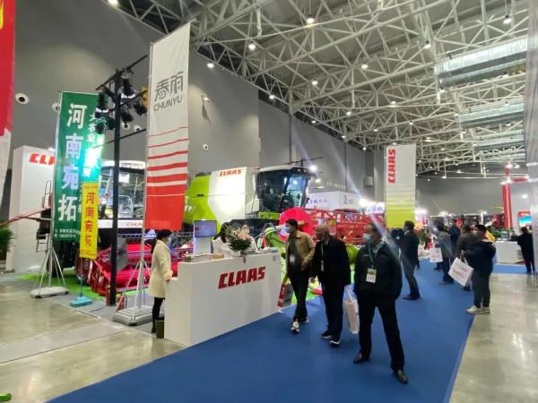 科乐收(CLAAS) | 春雨参展2021全国农业机械及零部件展览会