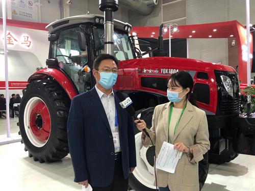 CIAME2020:专访江苏悦达智能农装营销公司副总经理彭广林